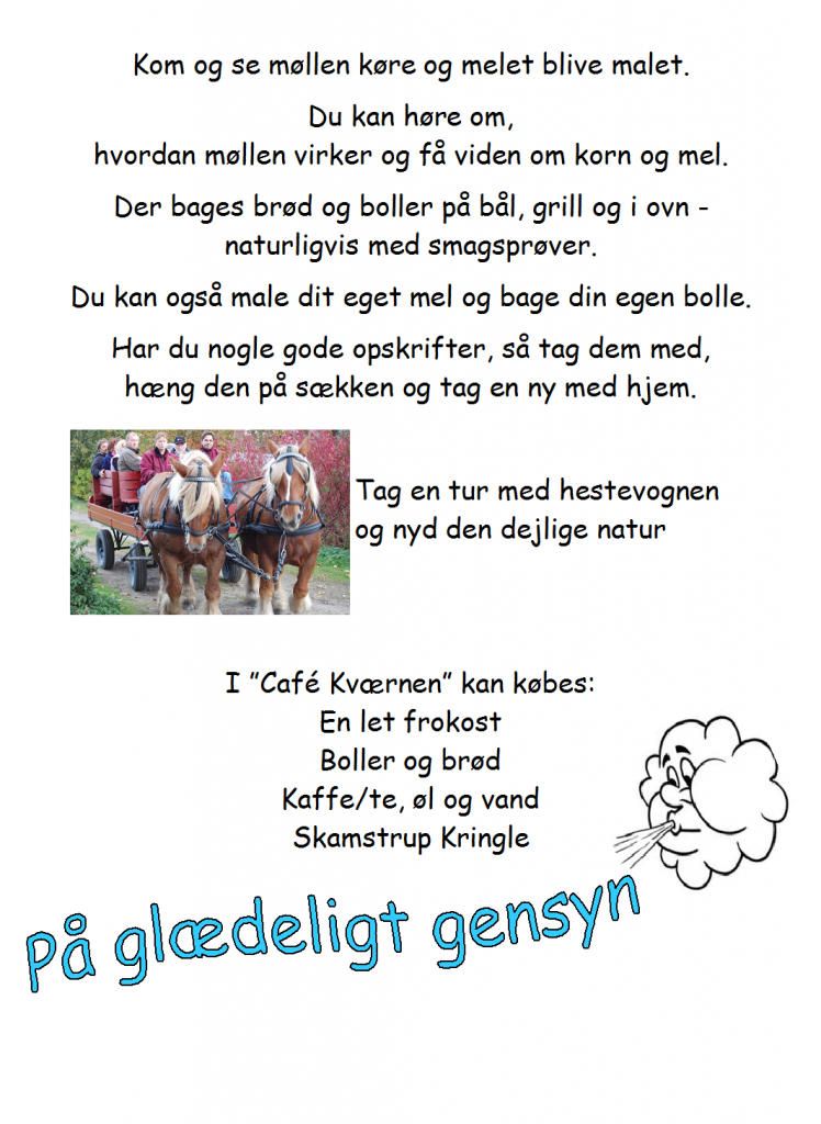 Landsmølledag 2014 - program